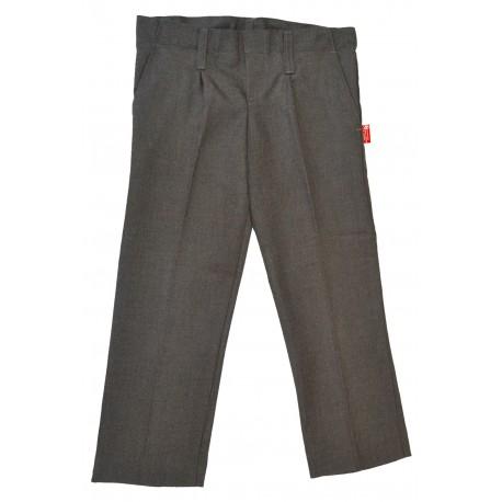 Pantalón largo gris